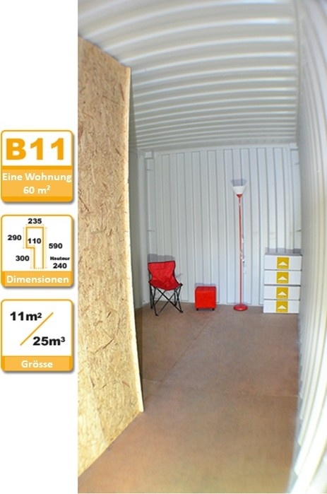 Selbstlagerung Container B11